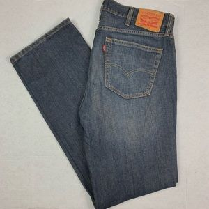 Levi Strauss Relaxed Straight Men's Jeans 38/36